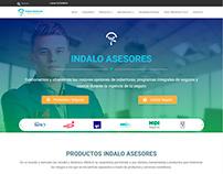 Indalo Asesores | Diseño de sitio web