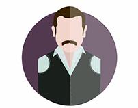 Grand Hotel - character design - جراند أوتيل
