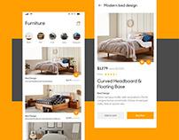 Online Shopping App Design