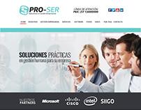 PRO-SER Web y logotipo Propuesta