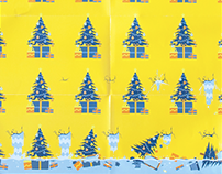 Unexpected wrapping paper.