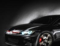 Volkswagen Golf GTI 8 / Mk VIII 2019 Concept