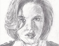 Gillian Anderson / Dana Scully from X-files