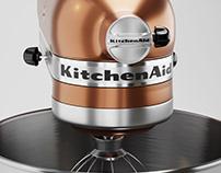 Mixer Kitchenaid - Full CGI