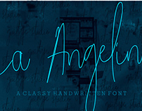 (FREE FONT) La Angelina !