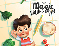 The Magic Rolling Pin ~ Children's Book