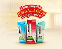 Embalagens Tampa Rosca - Leites Languiru