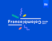 France Colombia cultural season - Brand design