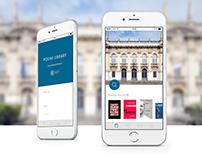 UX+UI redesign - Politecnico Library App