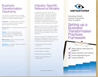 Campaign/Collateral - Business Transformation Brochures
