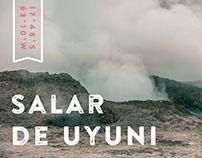 Salar de Uyuni (Colour)