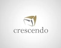 Portfolio identité - Logo, Crecendo
