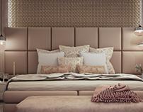 Design & rendering Master bedroom