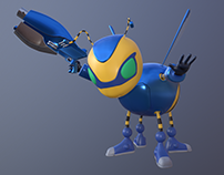 Buck Bumble | 3D Character