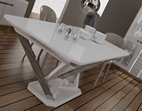 VALENTINO diningroom renders