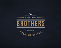 Logo and Identity | Brothers Coffee