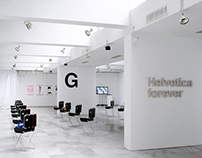Helvetica Forever Exhibition