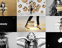 Short Fashion Stomp Opener | After Effects Template
