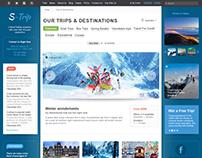 Diseño web para ¨S'Trip¨