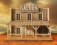 Saloon 3d
