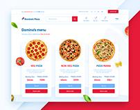 Domino's UI redesign concept