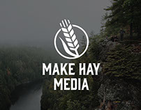 Make Hay Media Brand Identity