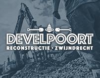 Reconstructie Develpoort // project identity