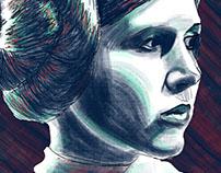 Leia Digital Painting