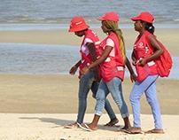 A beach day in Maputo