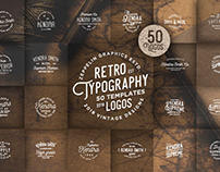 Retro Typography Logos