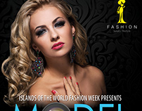 model casting poster