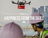 Coke Drones Microsite