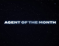 Motion Title for Agent of the Month (Short Film)