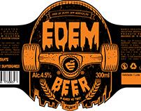 Édem Beer Label