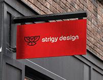 Strigy Design - Studio Branding