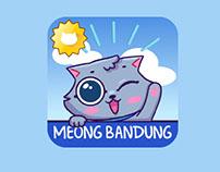 Meong Bandung Line sticker