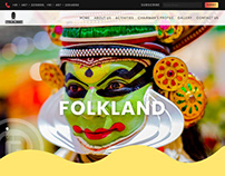 Folkland - Revamped Website Design & Branding