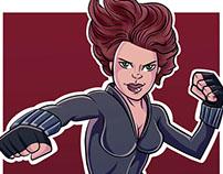 Black Widow - Fan Art