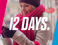 PAYPAL | 12 Days - Holiday Campaign