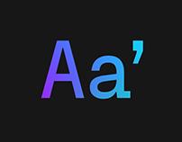 Fraktion Sans Typeface