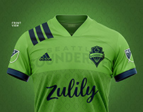 Seattle Sounders   Home Kit Concept