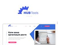 HUB Tools CRM [Landing Page]