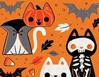 Cats of Halloween (Work in Progress Pattern)