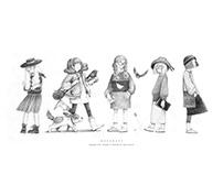 「素描小人物」集合