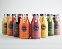 TBH Cold-Pressed Juices - Branding & Packaging