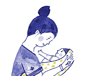 Mother and child - The journey