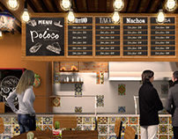Poloco Mexican Food / Interior Design