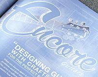 Encore Guitar Magazine Spread