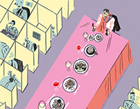 The Lost Art Of The Long Lunch – for NobleRot Magazine