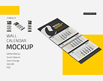 Wall Calendar v04 Mockup Set